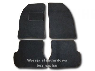 Dywaniki welurowe Mazda 2 I od 2003-2005r. ECONOMIC 01