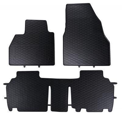 GEYER & HOSAJA  gumowe dywaniki samochodowe Mercedes Citan 5-osobowe od 2012r.  838/3C