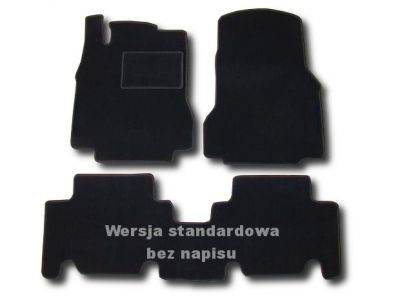 Dywaniki welurowe Mercedes A-Klasa W168 od 1997-2004r. LUX 9000