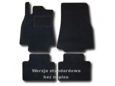 Dywaniki welurowe Mercedes A-Klasa W169 od 2004r. LUX 9000