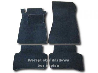 Dywaniki welurowe Mercedes C-Klasa W203 od 2000-2007r. LUX 9000