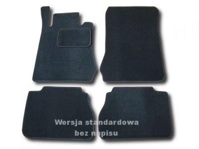 Dywaniki welurowe Mercedes E-Klasa W210 od 1995-2002r. LUX 9000