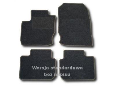 Dywaniki welurowe Mitsubishi Colt VII 3-drzwiowe od 2008r. ECONOMIC 01