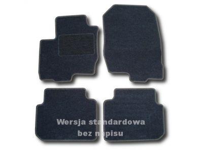 Dywaniki welurowe Mitsubishi Colt VI BJ 5-drzwiowe od 2004-2008r. ECONOMIC 01