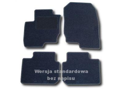Dywaniki welurowe Mitsubishi Colt VII 5-drzwiowe od 2008r. ECONOMIC 01