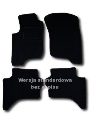 Dywaniki welurowe Mitsubishi L200 IV 2-drzwiowe od 2006r. LUX 9000