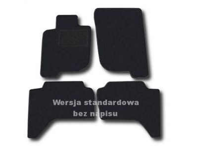 Dywaniki welurowe Mitsubishi L200 IV 4-drzwiowe od 2006r. LUX 9000