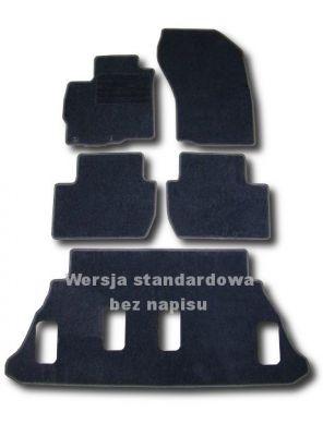 Dywaniki welurowe Mitsubishi Outlander 7-osobowe od 2007-2012r. LUX 9000