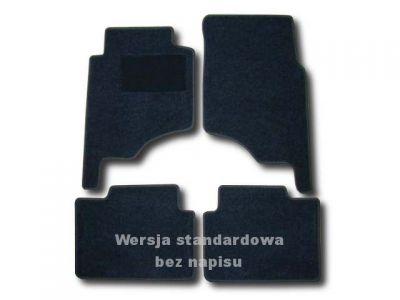 Dywaniki welurowe Mitsubishi Pajero Classic V20 krótki 3-drzwiowe od 2002r. LUX 9000