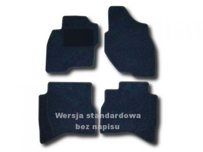 Dywaniki welurowe Mitsubishi Pajero Pinin 5-drzwiowe od 2000r. LUX 9000
