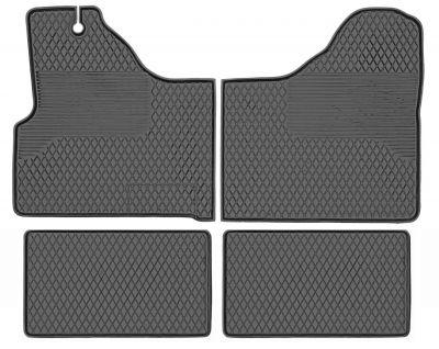Gumowe dywaniki samochodowe Iveco Daily 1999-2006r (NX/27D)