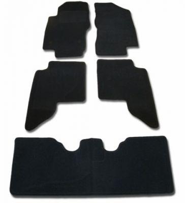 Dywaniki welurowe Nissan Pathfinder 7-osobowe od 2011r. ECONOMIC 01
