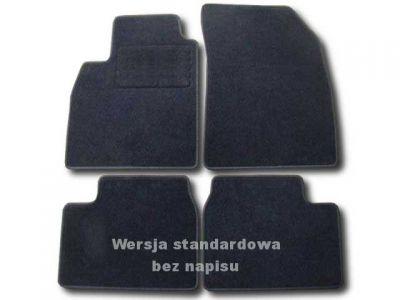 Dywaniki welurowe Nissan Micra K13 5-drzwiowe od 2010r. ECONOMIC 01
