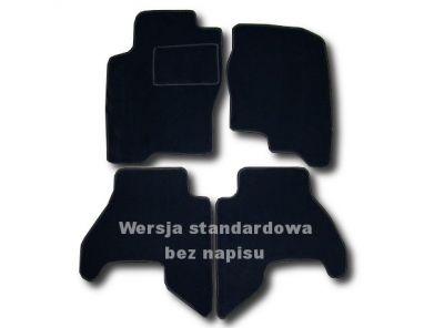 Dywaniki welurowe Nissan Navara 2-drzwiowe od 2005-2010r. ECONOMIC 01