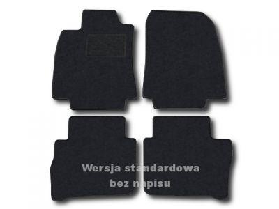 Dywaniki welurowe Nissan Tiida od 2008r. ECONOMIC 01