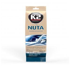 K2 NUTA CHUSTECZKI Chusteczki do mycia szyb K500