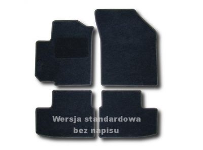Dywaniki welurowe Opel Agila II od 2008r. LUX 9000