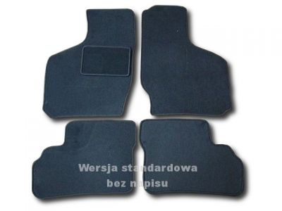Dywaniki welurowe Opel Agila I od 2000-2003r. ECONOMIC 01