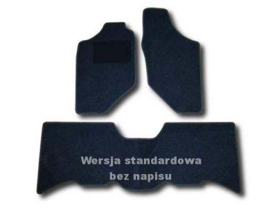 Dywaniki welurowe Opel Frontera B Long 5-drzwiowe od 1998-2004r. ECONOMIC 01