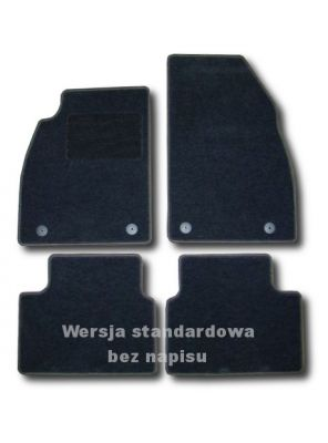 Dywaniki welurowe Opel Insignia 4-drzwiowe 5-drzwiowe od 2008r. ECONOMIC 01
