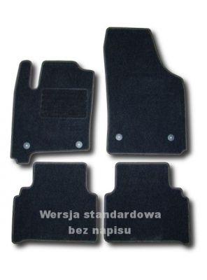 Dywaniki welurowe Opel Meriva od 2003-2010r. LUX 9000
