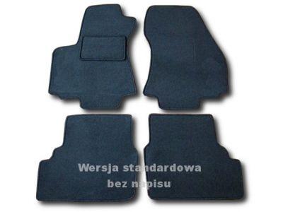 Dywaniki welurowe Opel Zafira A 5-osobowe do 2005r. ECONOMIC 01