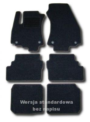 Dywaniki welurowe Opel Zafira A 7-osobowe do 2005r. ECONOMIC 01