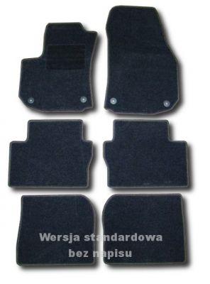 Dywaniki welurowe Opel Zafira B 7-osobowe od 2005-2011r. ECONOMIC 01