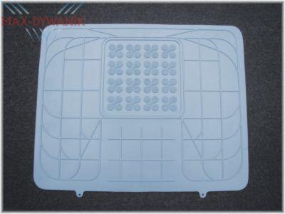 REZAW-PLAST popielata gumowa uniwersalna osłona na środkowy tunel samochodu