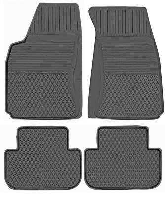KORYTKA Gumowe dywaniki samochodowe Daewoo Nubira  od 1997-2004r. (P-19)
