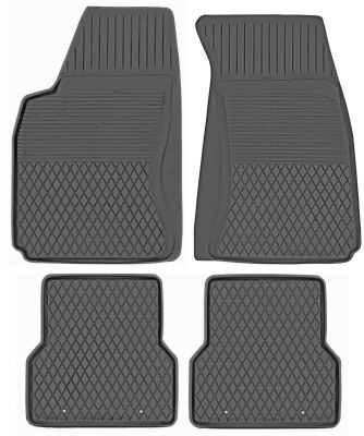 KORYTKA Gumowe dywaniki samochodowe Audi A4 B8 od 2008-2015r. (P-1)