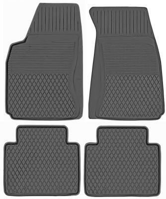 KORYTKA Gumowe dywaniki samochodowe Audi 100 od 1990-1994r. (P-3)