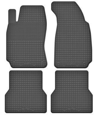 Motohobby bezzapachowe gumowe dywaniki samochodowe Audi A4 B6 B7 od 2000-2007r. (PN-1)