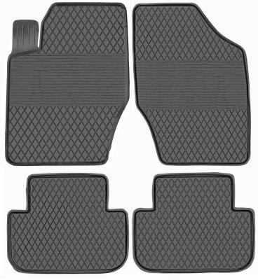 KORYTKA Gumowe dywaniki samochodowe Citroen C4 od 2011-2017r. (PX-19)