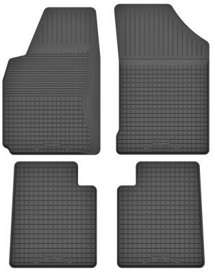 Motohobby bezzapachowe gumowe dywaniki samochodowe Dacia Logan od 2005-2013r. (P/C-14)