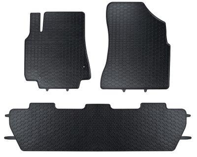 GEYER & HOSAJA  gumowe dywaniki samochodowe Peugeot Partner 5-osobowe od 2008r. 845/3C