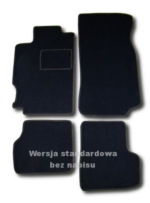 Dywaniki welurowe Peugeot 406 Coupe od 1989-2000r. LUX 9000