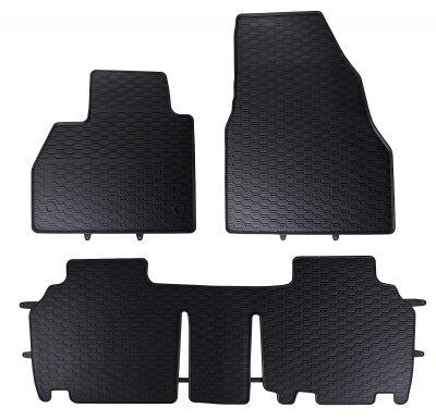 GEYER & HOSAJA  gumowe dywaniki samochodowe Renault Kangoo 5-osobowe od 2008r.  838/3C