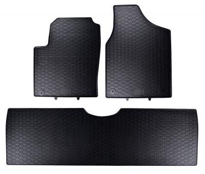 GEYER & HOSAJA  gumowe dywaniki samochodowe Seat Alhambra 5-osobowe od 1996-2010r.  819/3C