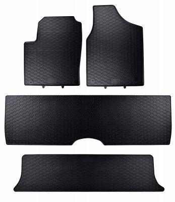 GEYER & HOSAJA  gumowe dywaniki samochodowe Seat Alhambra 7-osobowe od 1996-2010r.  820/4C
