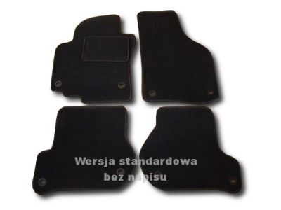 Dywaniki welurowe Seat Altea XL od 2006r. ECONOMIC 01