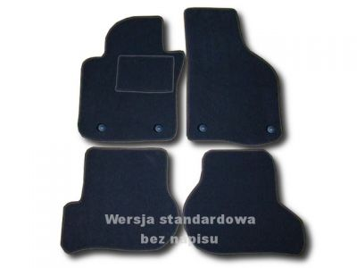 Dywaniki welurowe Seat Altea od 2004r. ECONOMIC 01
