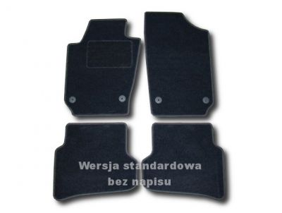 Dywaniki welurowe Seat Ibiza V od 2008r. ECONOMIC 01