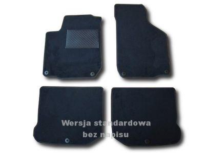 Dywaniki welurowe Seat Toledo II od 1999-2004r. ECONOMIC 01