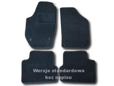 Dywaniki welurowe Skoda Fabia II od 2007r. ECONOMIC 01