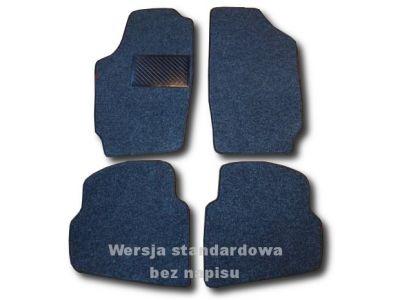 Dywaniki welurowe Skoda Fabia I od 2000-2007r. ECONOMIC 01