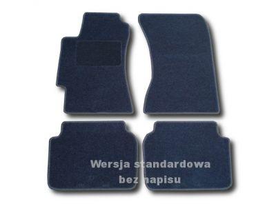Dywaniki welurowe Subaru Impreza I od 2000-2007r. ECONOMIC 01