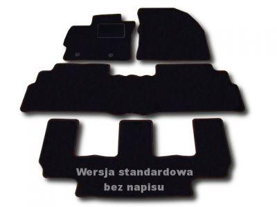 Dywaniki welurowe Toyota Verso 7-osobowe od 2009r. ECONOMIC 01