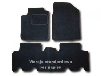 Dywaniki welurowe Toyota Yaris Verso od 1999-2005r. ECONOMIC 01