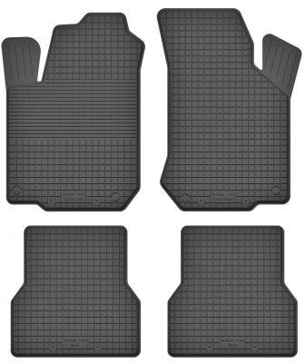 Motohobby bezzapachowe gumowe dywaniki samochodowe Fiat Doblo I 5os od 2001-2008r. (U-1)
